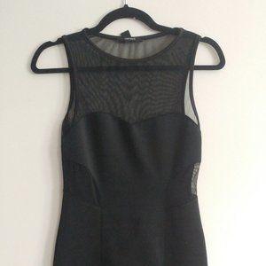 Forever 21 mesh insert mini dress